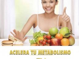 Acelera tu metabolismo usando diferentes alimentos y entreno